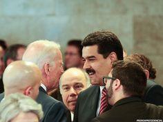 Galería caliente: Maduro y vicepresidente gringo Joe Biden conversaron en Brasil