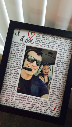Reasons why I love you photo frame