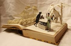 Les incroyables sculptures de livres de Jodi Harvey-Brown
