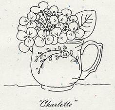 "Tea Party ""Charlotte"" Pattern"