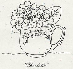 "Tea Party ""Charlotte"" Pattern"
