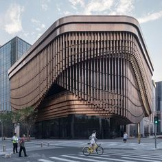 Shanghai Theatre by Foster + Partners & Heatherwick Studio in China. Photography Laurian Ghinitoiu