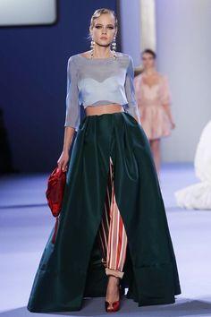 Ulyana Sergeenko Couture Spring Summer 2014 Paris - NOWFASHION