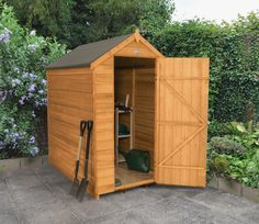 Overlap Dip Treated 4 x 6 Apex Shed - GardenSite.co.uk