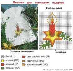 мини вышивка крестом новогодние схемы: 14 тыс изображений найдено в Яндекс.Картинках