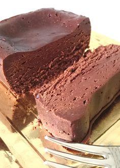 Sugar Free Chocolate Fondant: 4 ingredients