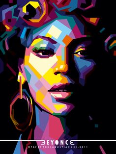 Beyonce Knowles WPAP by Toni Agustian 01-2011