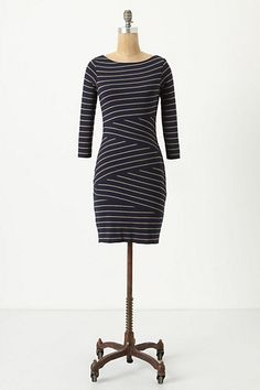 This is seriously the most forgiving dress in the world.  A little pricey but whoa does it do its work!  (Anthropologie)