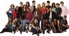 Degrassi The next generation is my all time favorite show right now.... I have all 9 seasons on DVD and when the next two come out im so there lol