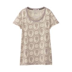 UNIQLO WOMEN LuluGuinness SHORT SLEEVE GRAPHIC T  Love the Cameo Print
