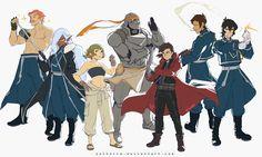 Voltron / Fullmetal Alchemist Crossover by solkorra