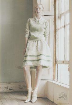 Julia Nobus in Harper's Bazaar Australia May 2012.