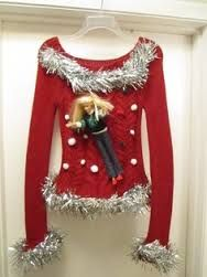 easy to make ugly christmas sweaters - Google Search