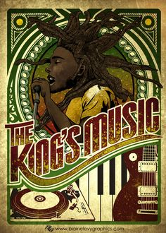 My submission into the International Reggae Poster Contest