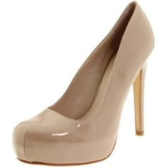 Chinese Laundry Women`s Whistle Platform Pump,Nude Patent,8.5 M US $69.95