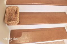 paper bag floor stairs, design d cor, flooring, stairs, Paper bag stairs floor