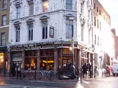 """Anyone who is familiar with Jack the Ripper knows this pub, Ten Bells, is where the prostitutes frequented. I had the pleasure of visiting it as well and having a gin and tonic on a """"Jack the Ripper Tour"""" in the White Chapel district of London."""