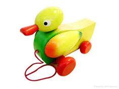 a duck that children find fun