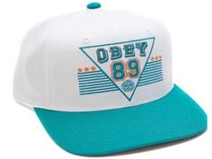 014ce6f1a3b8a New Style Obey Snapback Hats Caps White 1698
