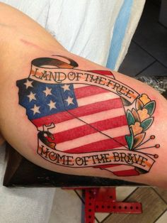 48 best flag tattoos images on pinterest american flag tattoos explore the american magnificence with the best patriotic july tattoos cool tat ideas for displaying nationalist pride with american flag and many more publicscrutiny Image collections