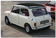 Austin Mini Cooper 1967 S rear - Austin Mini Cooper S. In 1964 the 1071 S…