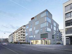 NAU Architecture - Raiffeisen Bank Kreuzplatz - Zurich - Switzerland