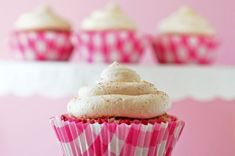Churro Cupcakes with Cinnamon Mascarpone Frosting
