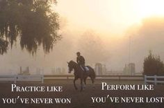 Practice hard & show with confidence! #Competition #Showing #Quote
