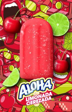 Aloha Cherry Lemonade Cherry Lemonade, Advertising Archives, Creative Director, Watermelon, Presents, Product Launch, Fruit, Gifts, Favors