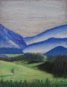 Landscape - Pastel