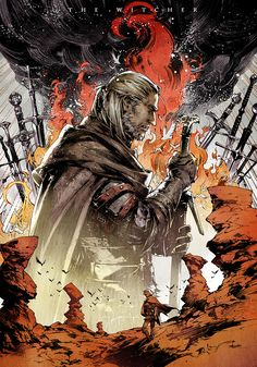《The Witcher / Geralt of Rivia》 The Witcher Wild Hunt, The Witcher 3, Witcher 3 Art, The Witcher Books, Dark Fantasy, Fantasy Art, Geeks, Witcher Wallpaper, Jeux Xbox One