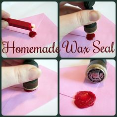 Homemade vintage wax seals. | 17 DIY Stationery Projects That Will Make You Want To Write A Letter