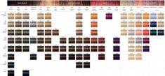 Schwarzkopf Color Chart
