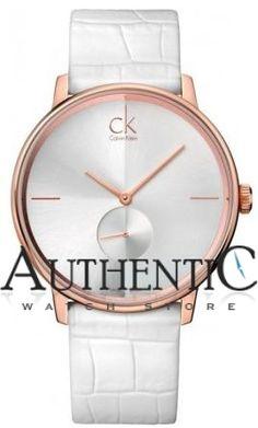 Calvin Klein K2Y216K6 Watch Accent Mens - Silver Dial