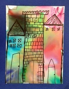 Paul Klee Castle and Son. Lost Socks, Paul Klee, Arts Ed, Teaching Art, Elementary Art, Art Education, Inspire Me, Art History, Castles