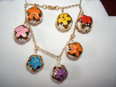 Cloisonne Bells Bracelet