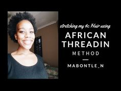 Hello Napturals, welcome back to my channel. Today's video I used the african threading method to stretch my hair with the help of 2 products, The dark and l. 4c Twa, African Threading, Black Castor Oil, Hair Blog, Stretching, My Hair, The Help, Natural Hair Styles, Social Media