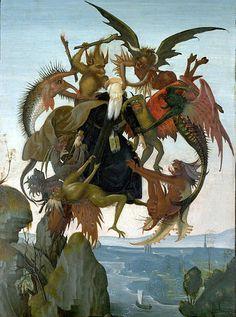 Arte Sacra - Via Pulchritudinis para o Infinito: As Tentações de Santo Antão - The Torment of Saint Anthony