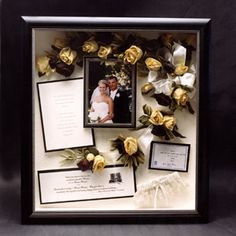 interesting idea in keeping and saving wedding stuff. like invitations, save the dates, programs, ect. Travel Shadow Boxes, Diy Shadow Box, Girl Shadow, Wedding Boxes, Wedding Ideas, Wedding Stuff, Wedding Personal Touches, Christmas Shadow Boxes, Wedding Memorial
