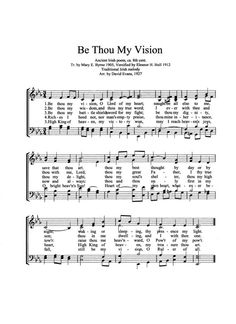 be thou my vision ascend the hill pdf
