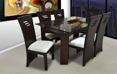 Build Your Own Furniture Easily! Plans For Furniture and Small Crafts - Outdoor Furniture Plans Modern Dinning Table, Dinning Table Design, Dining Room Furniture Design, Dinning Set, Wood Bedroom Furniture, Living Room Sofa Design, Living Room Decor Cozy, Kitchen Room Design, Hall Furniture