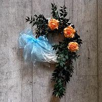 Zboží prodejce Darinadekor / Zboží   Fler.cz Hanukkah, Christmas Wreaths, Floral Wreath, Holiday Decor, Christmas Garlands, Flower Garlands, Advent Wreaths, Flower Band, Floral Arrangements
