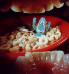 Mouth pinhole photography by Justin Quinnell, taken with a 220 roll of film inside Justin's mouth!