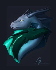 dragon love, wiiolis, portrait, fantasy