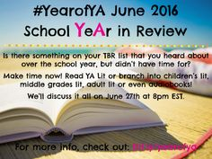 Year of YA | Reading YA lit All Year Long #YearofYA