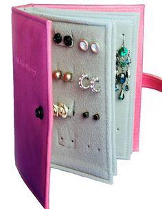 אחסון תכשיטים, 04 ספר לאחסון עגילים