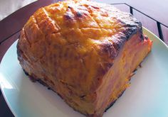 Orange Glazed Ham - Primal, Paleo, Kid Friendly and Clean Eating I love Christmas in New Zealand, BBQ for Christmas dinner is excellent. Orange Glazed Ham, Ham Glaze, Primal Recipes, Banana Bread, Clean Eating, Cleaning, Foods, Dinner, Easy