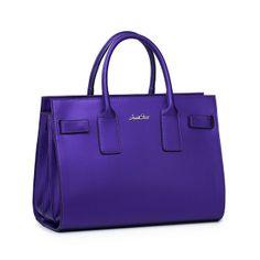 High Quality Solid Color Chic Handbag