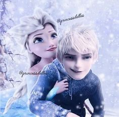 Elsa and Jack Gif - Elsa & Jack Frost Photo - Fanpop. Dude you gonna kiss or what? Jelsa, Disney Frozen Elsa, Disney Fun, Disney Ships, Disney Stuff, Disney Couples, Cute Couples, Elsa Y Jack Frost, Sailor Moon Background