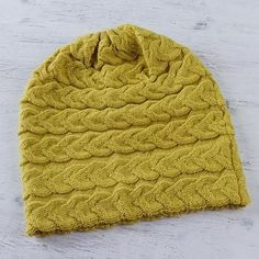 Braided Yellow Warmth